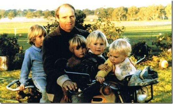 Dad and 4 Marriott kiddliwinks