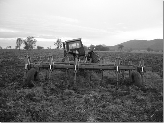 Bogged Tractor