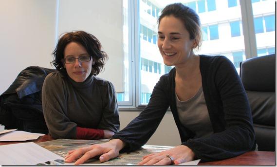 Sophie Davidson & Angela Bradburn
