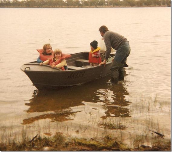Fishing at Rocklands