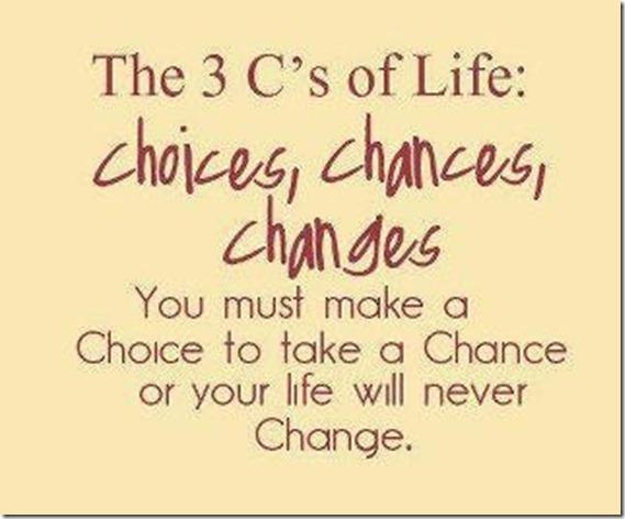 3 c's of life