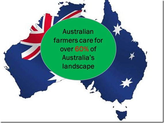 Australian Farms care for over 60% of Australia's landscape