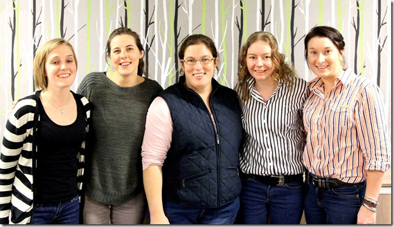 Melissa Henry and the 2013 Wool Young Farming Champions