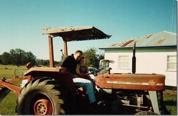 Josh Gilbert Tractor