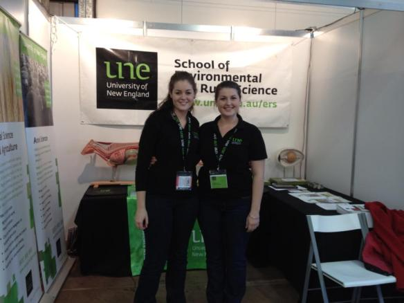 Marketing for the School of Environmental and Rural Science at Primex, Casino NSW 2013