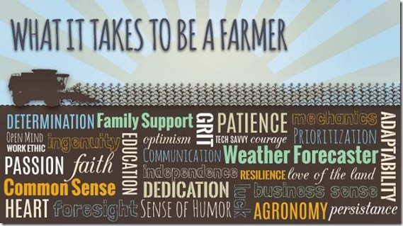 what it takes to be a farmer