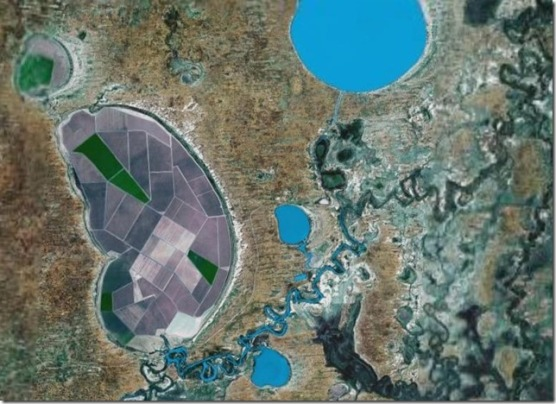 Tandou Map Google Earth