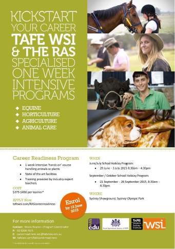 A4 flyer - Career Readiness Program V2