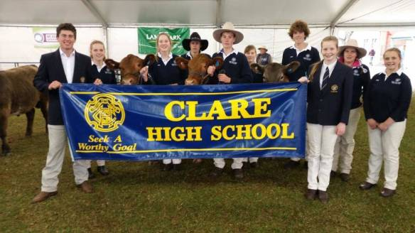 Clare High School at Adelaide Show
