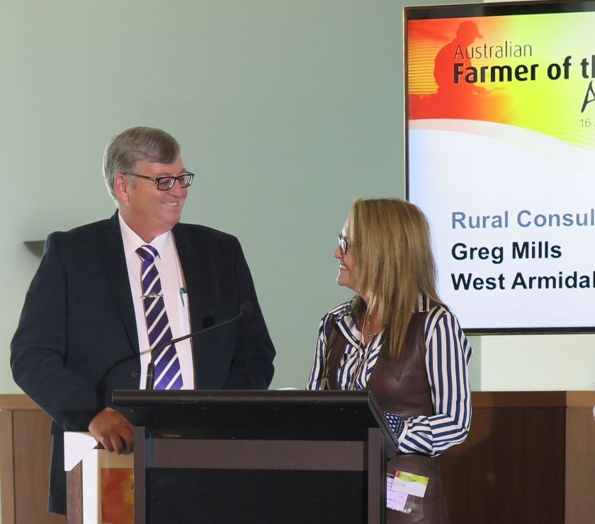 Greg Mills and Pip Courtney
