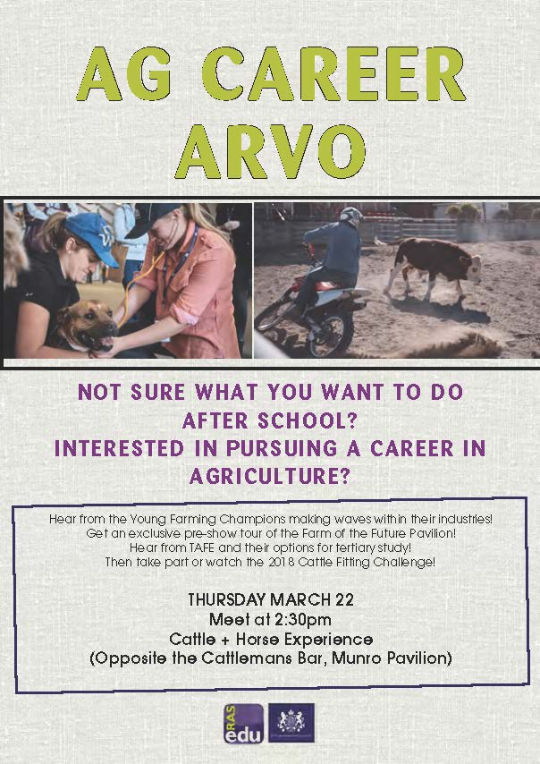 Ag Career Arvo Flyer