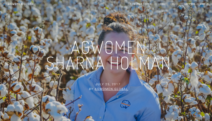 Sharna Holman AgWomen Global
