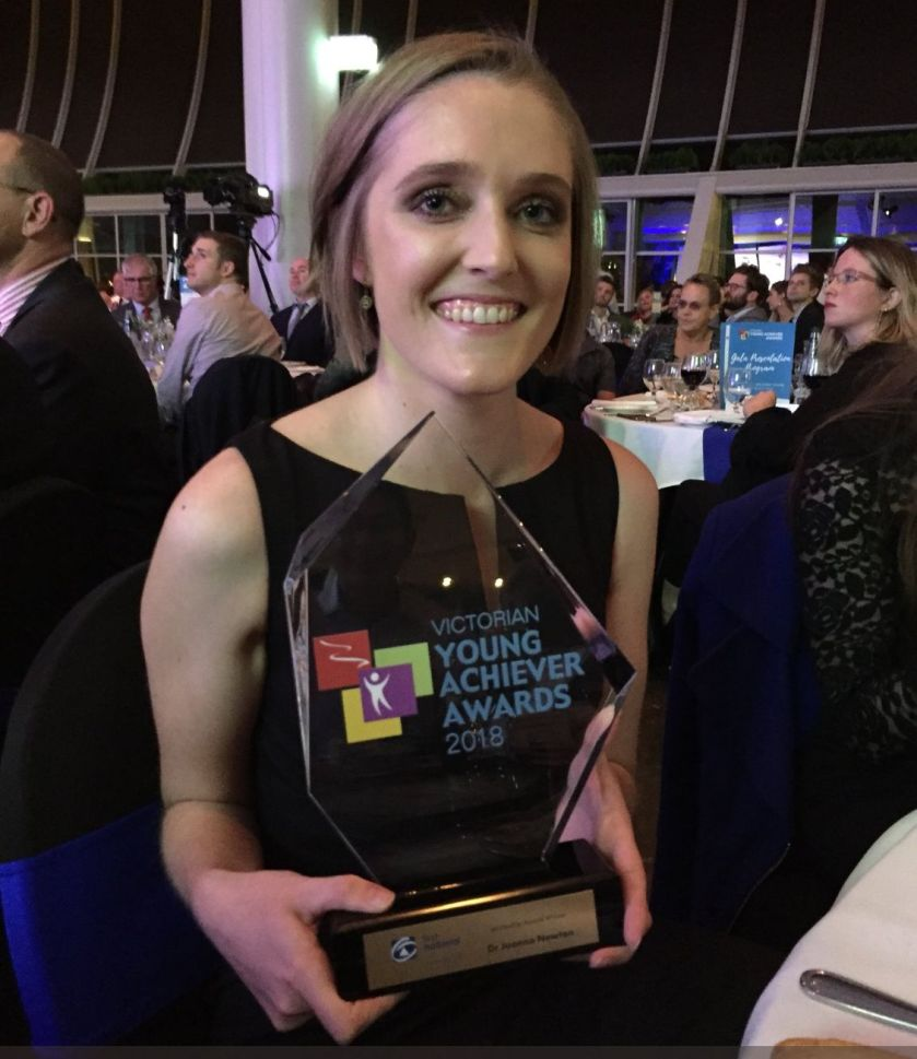 Jo Newton Winner Victorian Young Achievers Leadership Award Winner.jpg