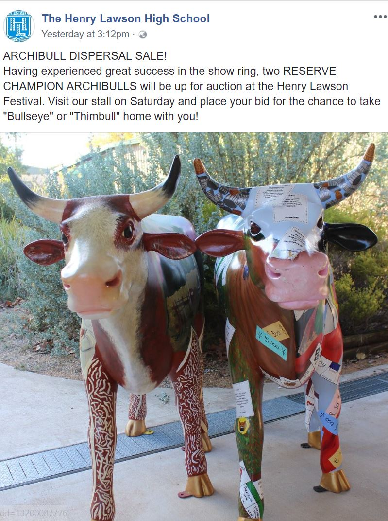 Thimbull and BullsEye Up for Auction