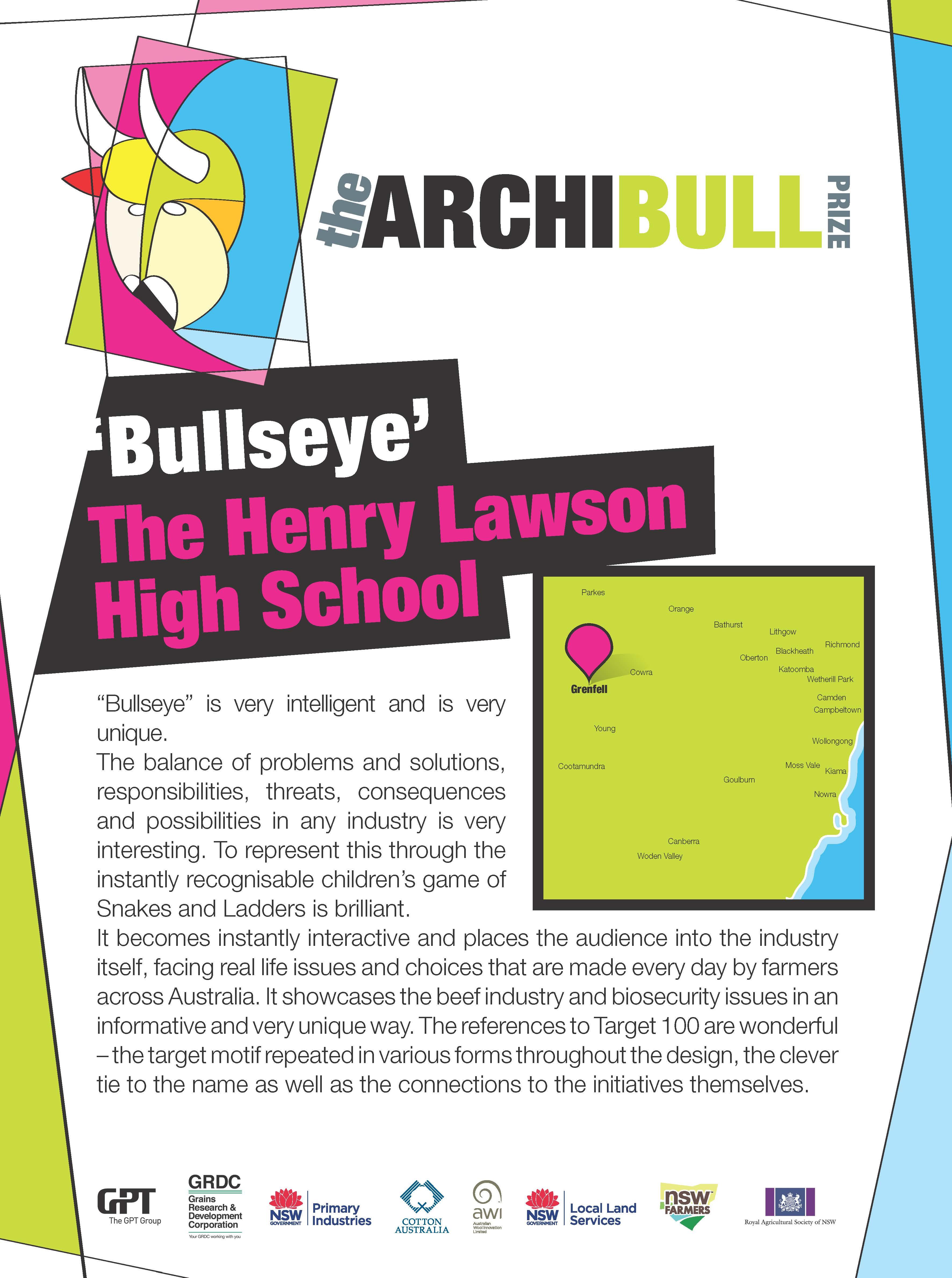 THLHS Easel BullsEye
