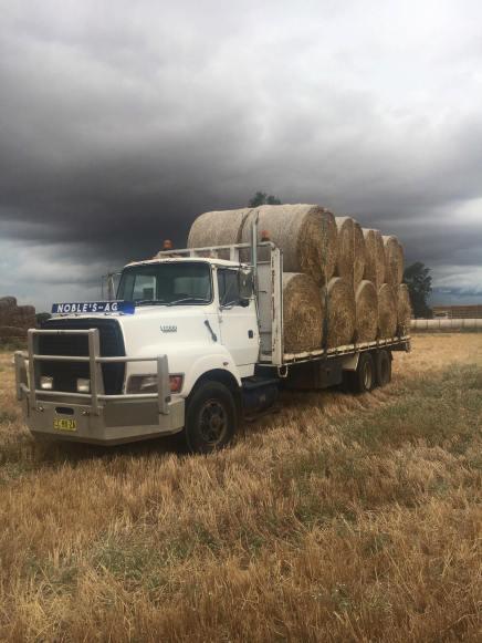 carting hay