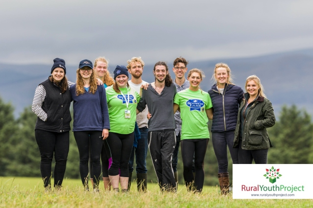 Rural Youth Ideas Festival, Kinross, Scotland, 2nd & 3rd August 2018.