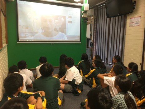 Carlingford West Public School Google Hangout with Danila Marini