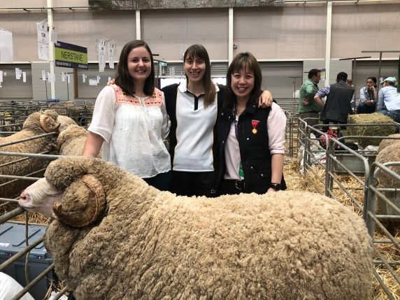 Zoe Stephens Paddock Pen Pals with Dione and Sam .JPEG