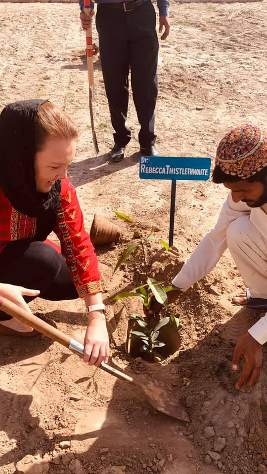 Dr Rebecca Thistlethwaite in Pakistan (1)