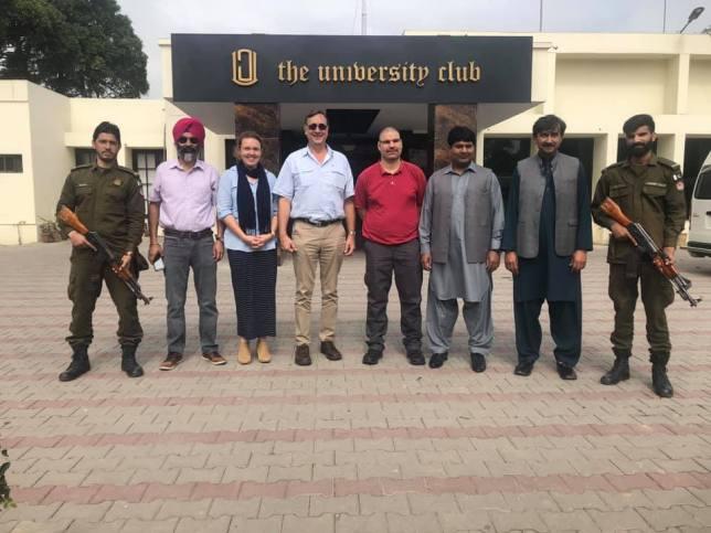 Dr Rebecca Thistlethwaite in Pakistan (2)