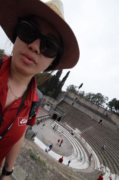 Sam in Italy