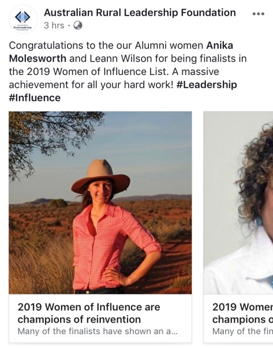 Anika Molesworth 100 women of influence.jpg
