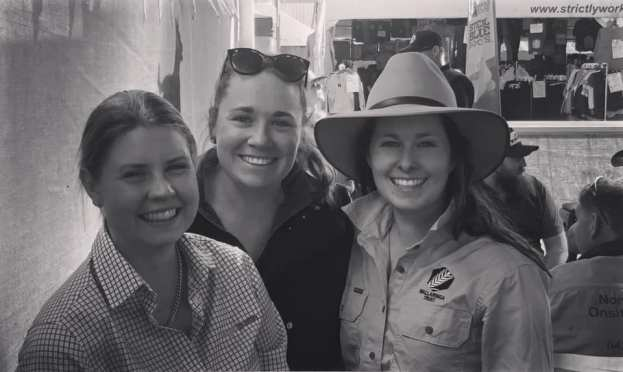 Jas Lucy and Marlee at AgQuip.jpg