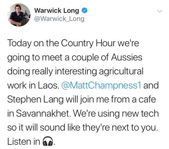 Matt Chapness tweet Country Hour.jpg