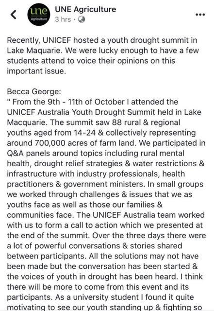 Becca George Drough Summit 1