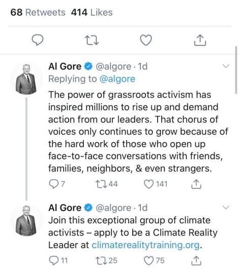 Al Gore Tweet 2