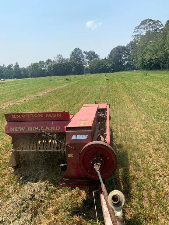 Tim Eyes making hay 1